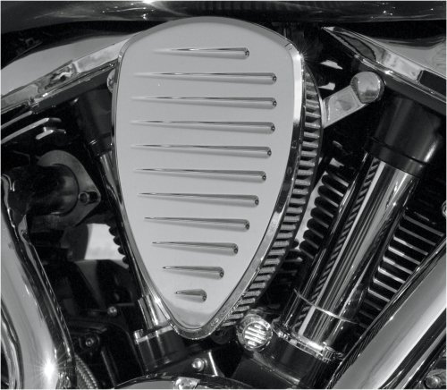 Baron Custom Accesories Pinstripe Chrome Big Air Kit for 2006-2010 Kawasaki Vulcan 900