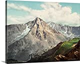 Canvas on Demand Premium Thick-Wrap Canvas Wall Art Print entitled Vintage photograph of Mount of the Holy Cross, Colorado 20''x16''