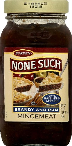 Nonesuch Brandy and Rum Mincemeat 27.00 OZ (Pack of 12)