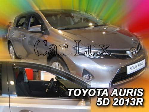 Car Lux AR00244 Derivabrisas Deflectores de Aire Cortavientos de Viento Delanteros y Traseros para C4 Grand Picasso a Partir de 2013