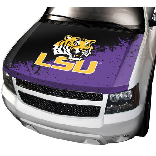 ProMark NCAA Louisiana State Auto Hood Cover, One Size, One Color