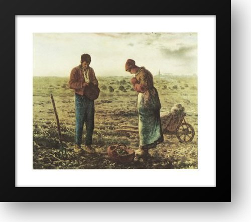 The Angelus, c.1859 15x13 Framed Art Print by Millet, Jean Francois