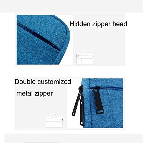 Maletín Bolsa Portátil 6 HMBB 11 sky Multifuncional Paquete Función blue MacBook Apple Pulgadas Multi para Manga 15 de Cuaderno Poliéster Bolso fYxq1wx8