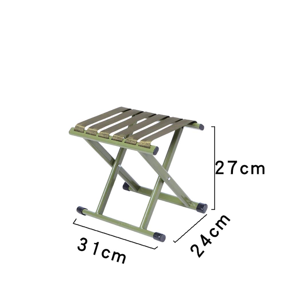 Luggage Racks- Folding metal outdoor Mazar stool Leisure fishing beach nylon rope stool Multi-function home Hotel luggage rack Sofa stool Foot stool (Color : A, Size : 312427cm)