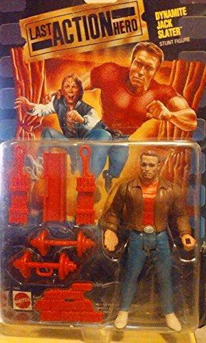 Last Action Hero Dynamite Jack Slater Stunt Figure by Mattel