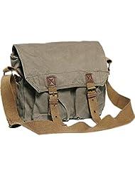 Vagabond Traveler Washed Canvas Messenger Bag
