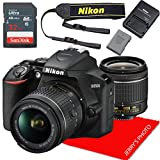 Nikon D3500 w/AF-P DX NIKKOR 18-55mm f/3.5-5.6G VR + 32GB Memory Bundle