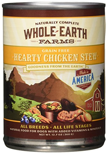 Whole Earth Farms Hearty Chicken Stew, 12.7-Ounce, Pack of 12 (Chicken Nutrition Whole)