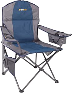 OZTRAIL Cooler ARM Picnic Camping Chair - Blue