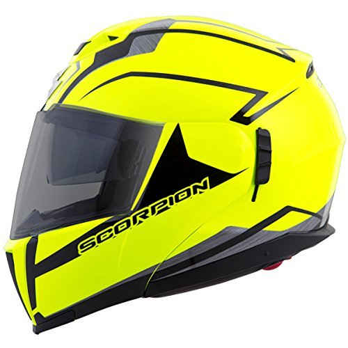 Scorpion EXO-900X TransFormerHelmet 3-In-1 Street Motorcycle Helmet (Neon, Medium)