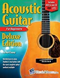 Acoustic Guitar Primer Book for Beginners - Deluxe Edition with DVD and 2 Jam CDs