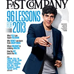 Audible Fast Company, December 2012 Periodical