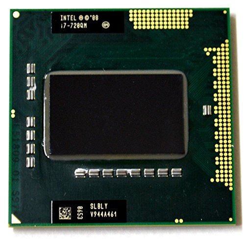 Intel Core i7-720QM SLBLY 1.6GHz 6MB Quad-core Mobile CPU Processor Socket G1 988-pin (Intel Core I7 720qm)