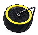 Bluetooth 4.0 Portable Wireless speaker,Topmaxions Mini Wireless Outdoor and Shower Waterproof Sport Speaker with 10 Hour Rechargeable Battery Life,Pairs with All Bluetooth Devices (Yellow)