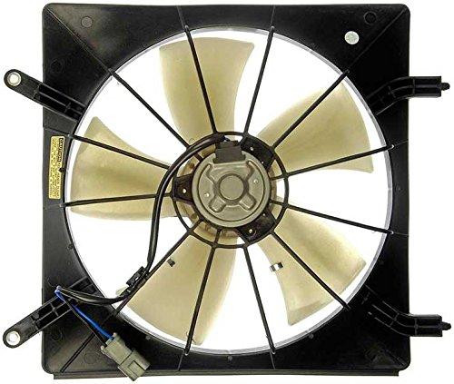 APDTY 731343 Radiator Cooling Fan Blade Shroud Motor Assembly Fits (Driver Side Left) 2003-2011 Honda Element Or 2002-2006 Honda CR-V (Replaces 19015-PNB-003, 19015-PZD-A01, 19020-PNA-003, 19020) (Motor Fan Radiator Cooling Side)
