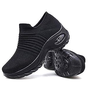 Scarpe da Passeggio, da Donna, in Rete, Traspiranti, per Atletica, Corsa su Strada