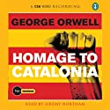 Homage to Catalonia Audiobook by George Orwell Narrated by Jeremy Northam