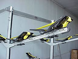 The Kayak Wing - Sea Kayak Rack with Yellow Straps for Boats Under 30\