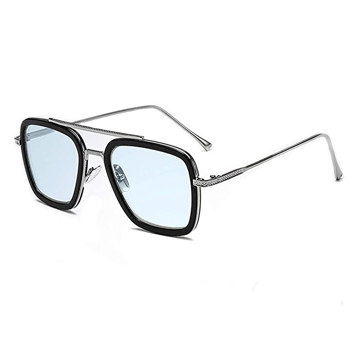 Amazon.com: Vintage Aviator Square Metal Frame for Women ...