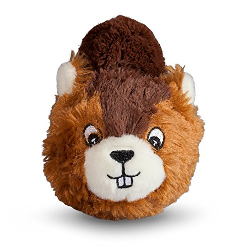 fabdog Beaver faball Squeaky Dog Toy (Medium)