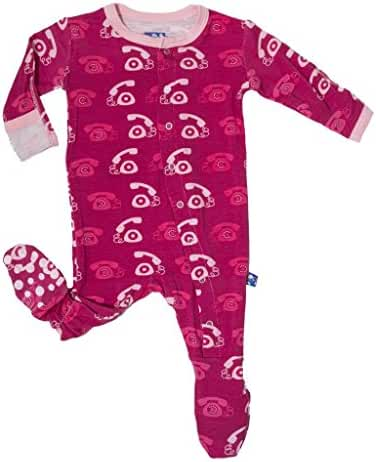 KicKee Pants Little Baby Girls' Footie