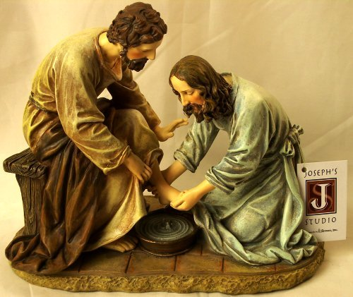Jesus Washes the Disciple's Feet By Josphs Studio 45615 (Jesus Washing Disciples Feet)