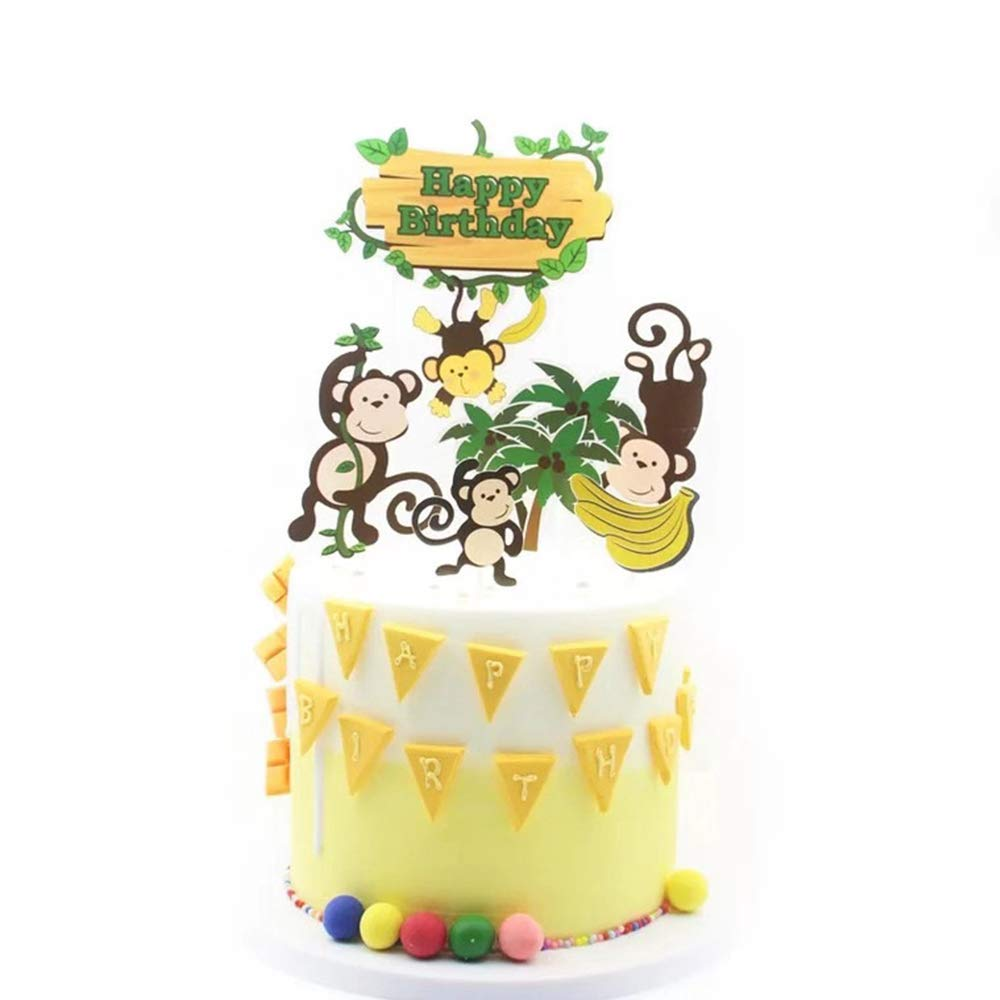 Tremendous Nn Bh Happy Birthday Cake Topper Birthday Party Cake Decoration Funny Birthday Cards Online Alyptdamsfinfo