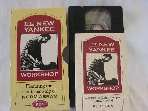 The New Yankee Workshop Vhs - Pergola