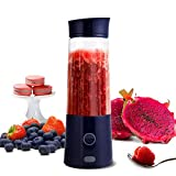 Portable Blender, TOPQSC Macaron Small Portable USB Rechargeable Juicer fruit Mixer for Shakes