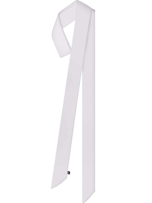 Estate Skinny Sciarpa Pianura Scialle di Colore Solido Raso Sciarpa Stretta Sciarpa Cintura Collo Polso Sciarpa
