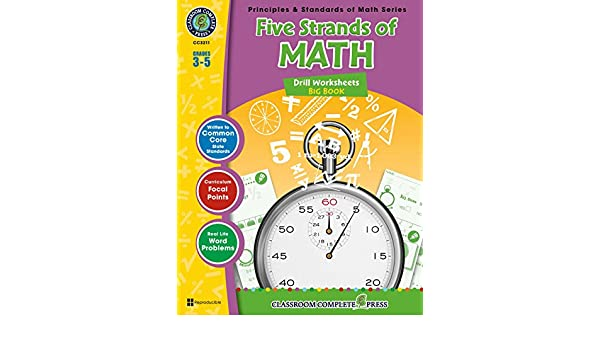 Five Strands of Math - Drills Big Book Gr. 3-5, Nat Reed, Mary ...