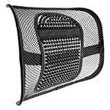 ACVCY Lumbar Mesh Support for Office Chair or Car Seat,Breathable Comfortable Back Support for Office Chair Lumbar Support Cushion for All Types Car Seats Office Chair 12