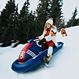 FUNBOY Giant Inflatable Snowmobile Sled Luxury Pool Float