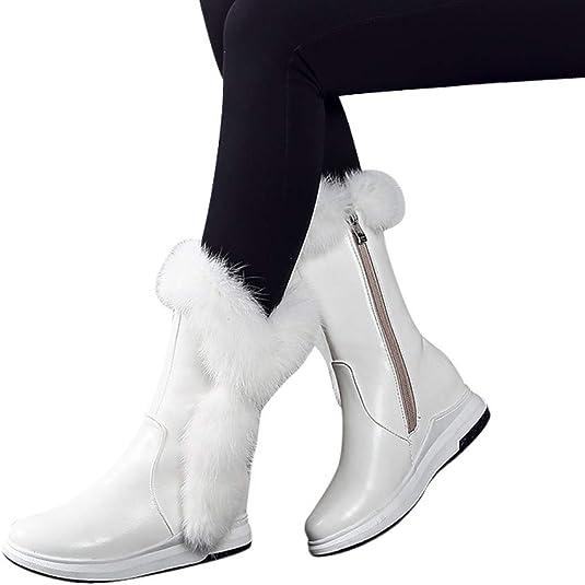 Geili Stiefeletten Schneestiefel Damen Halbschaft Stiefel