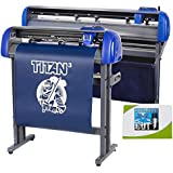 "28"" USCutter Titan 3 Vinyl Cutter with Servo Motor and ARMS Contour Cutting Plus Design/Cut Software"