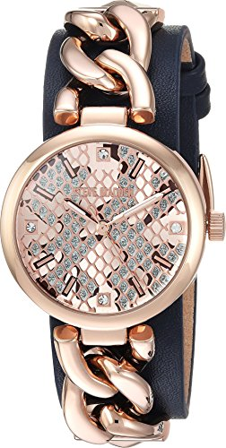 Second Skin Costume Review (Steve Madden Women's Quartz Gold Casual Watch, Color:Blue (Model: SMW049Q-NB))