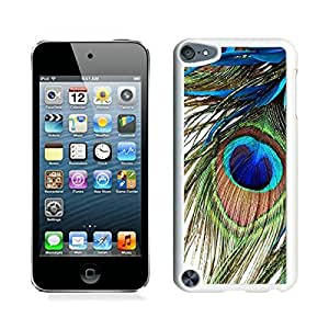 Peacock Feather iPod touch 5 Case White Cover