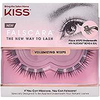 KISS Falscara Eyelash Volumizing Wisps, Black, 1 Pair