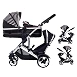 Kids Kargo Duel DS + Carrycot Liner/Mattress Insect net Carrycot Converts to Seat Unit. Also Includes 2 Raincovers…