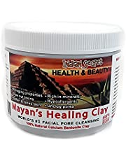 Mayan Secret - Indian Healing Clay - Deep Pore Cleansing Facial & Healing Body Mask | The Original 100% Natural Calcium Bentonite Clay 1 pound