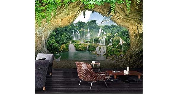 BHSWD View Cave Days Water Corbine 3D Scenery Background ...