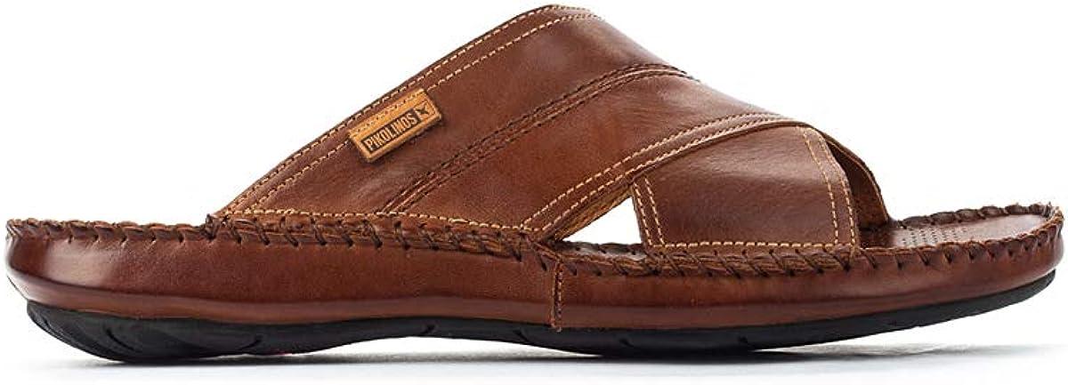 Pikolinos Men's Tarifa 06J Open Toe Sandals, Brown (Cuero Cuero), 6 UK
