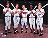 Cincinnati Reds Big Red Machine 8x10 Reprint Photo Rose Bench Morgan +++