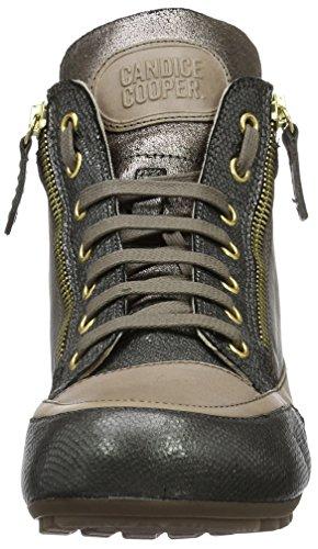 Candice Cooper Lion Zip - Zapatillas Mujer Gris (Antracite)