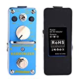 Harmonizer Harmonist Pitch Shifter Mini Electric Guitar Effect Pedal Digital Effect with True Bypass AROMA AHAR-3, Aluminum Alloy blue, by LC Prime