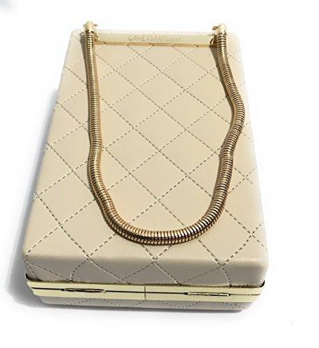 Women's Clutch Moschino ral white Off Ivory 1013 01UdqU