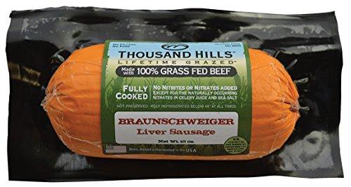 Braunschweiger Liver Sausage (8 units @ 10 oz)