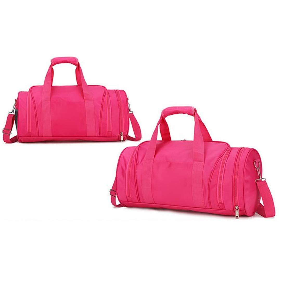 Amazon.com: Nylon Sports Gym Bags Men Women Girls Training ...