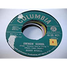 BOBBY RYDELL 45 RPM Swingin' School / Ding-A-Ling