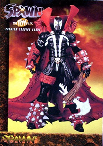 (SPAWN THE TOY FILES 1998 INKWORKS PROMOTIONAL TRADING CARD P1)